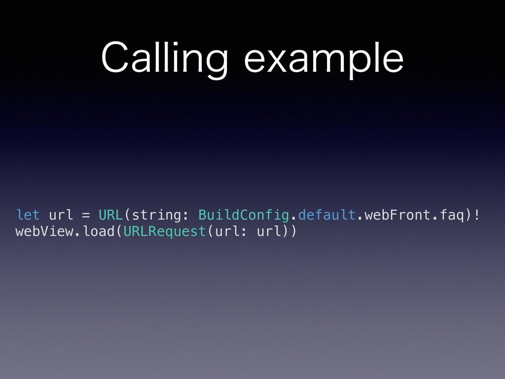 $BMMJOHFYBNQMF let url = URL(string: BuildConf...