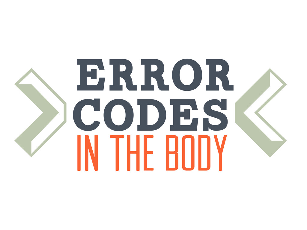 codes Error In the body > <