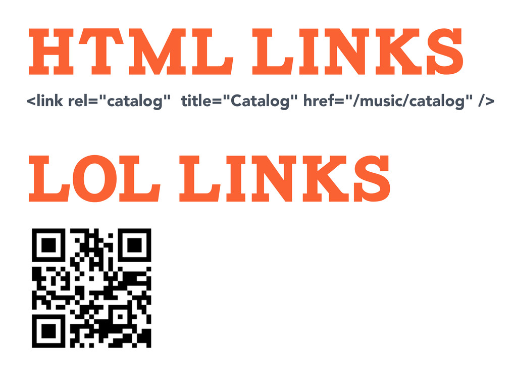 "LOL LINKS HTML LINKS <link rel=""catalog"" title=..."