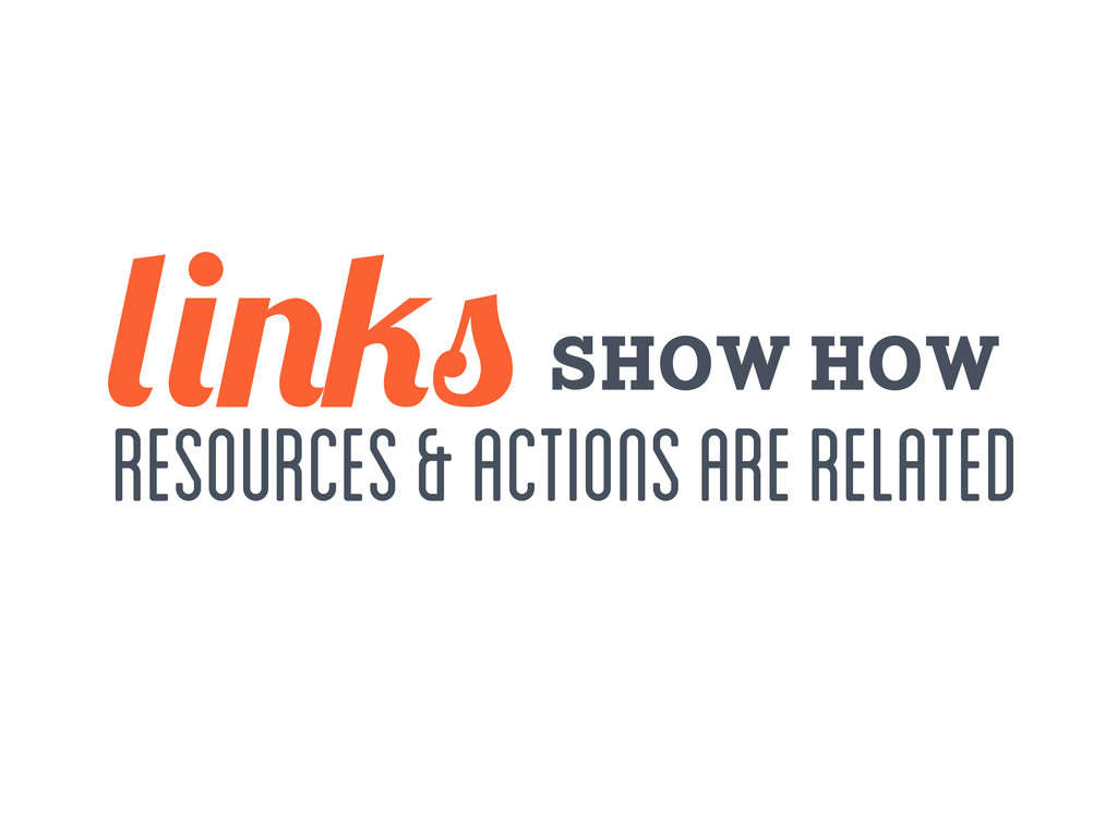 show how resources & actions are related