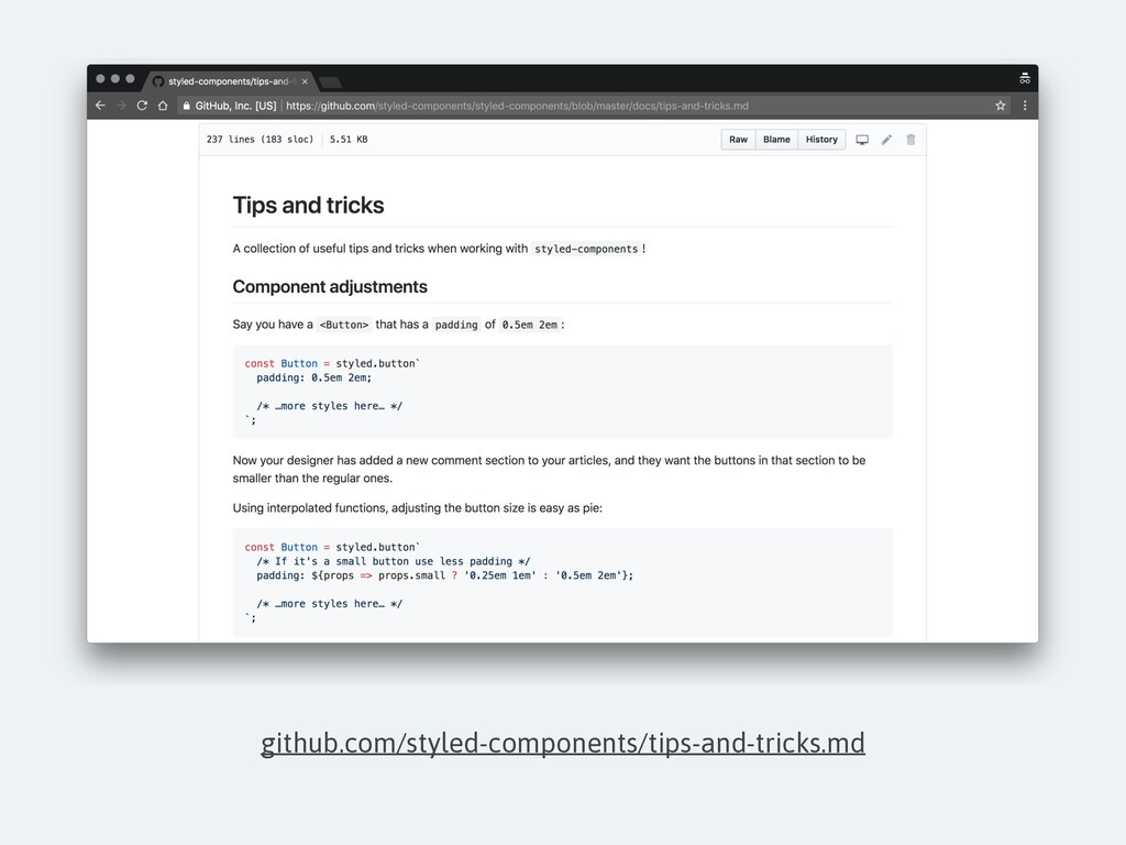github.com/styled-components/tips-and-tricks.md