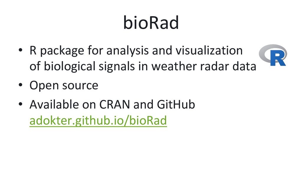 bioRad • R package for analysis and visualizat...