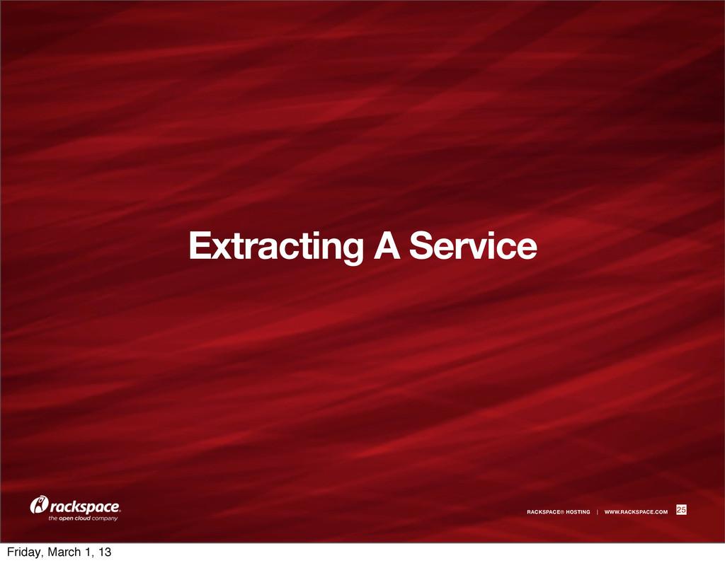 RACKSPACE® HOSTING | WWW.RACKSPACE.COM Extracti...