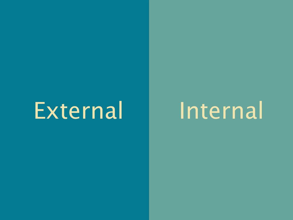 External Internal