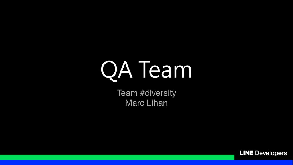 Team #diversity Marc Lihan