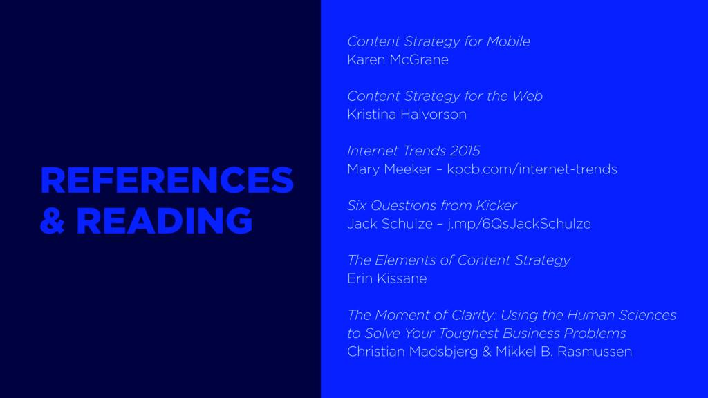 Content Strategy for Mobile Karen McGrane Conte...