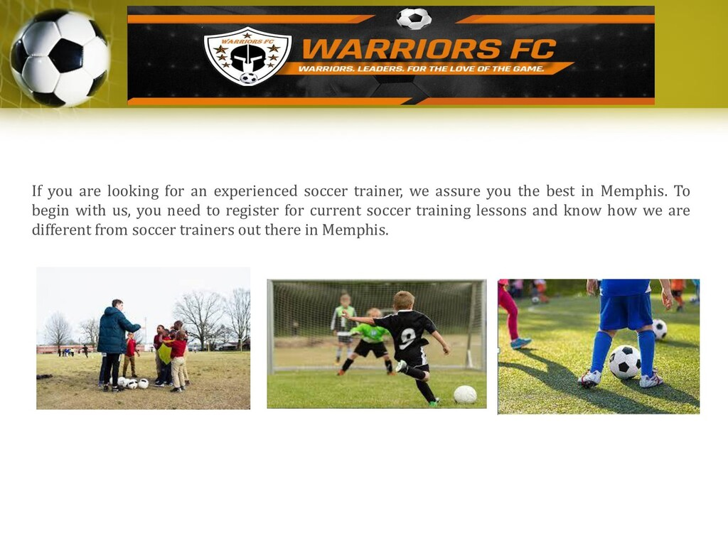 If you are looking for an experienced soccer tr...