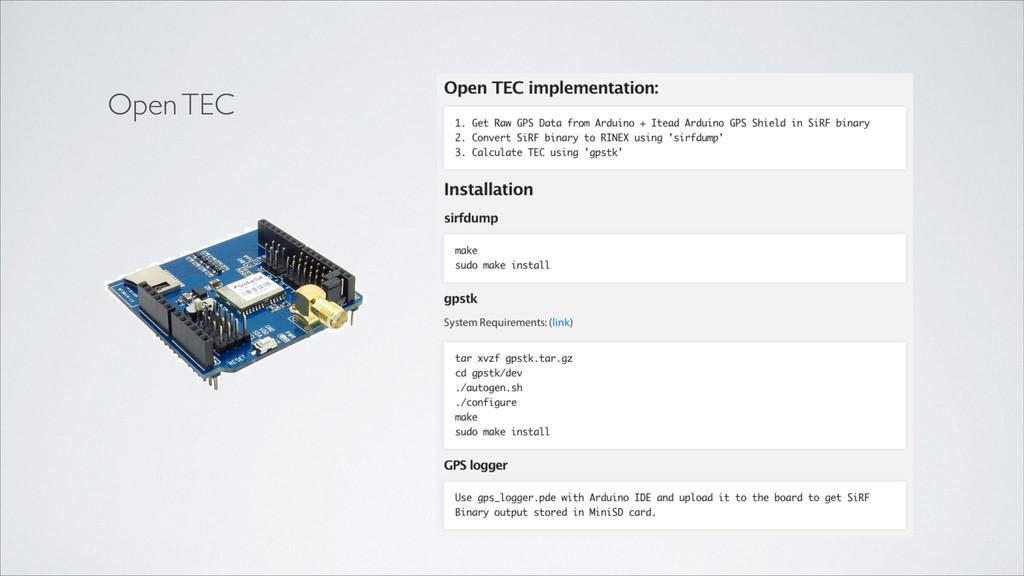 Open TEC