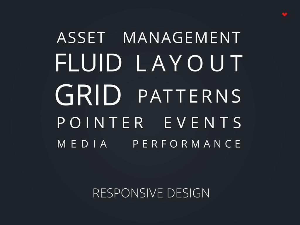 RESPONSIVE DESIGN ASSET MANAGEMENT FLUID GRID L...