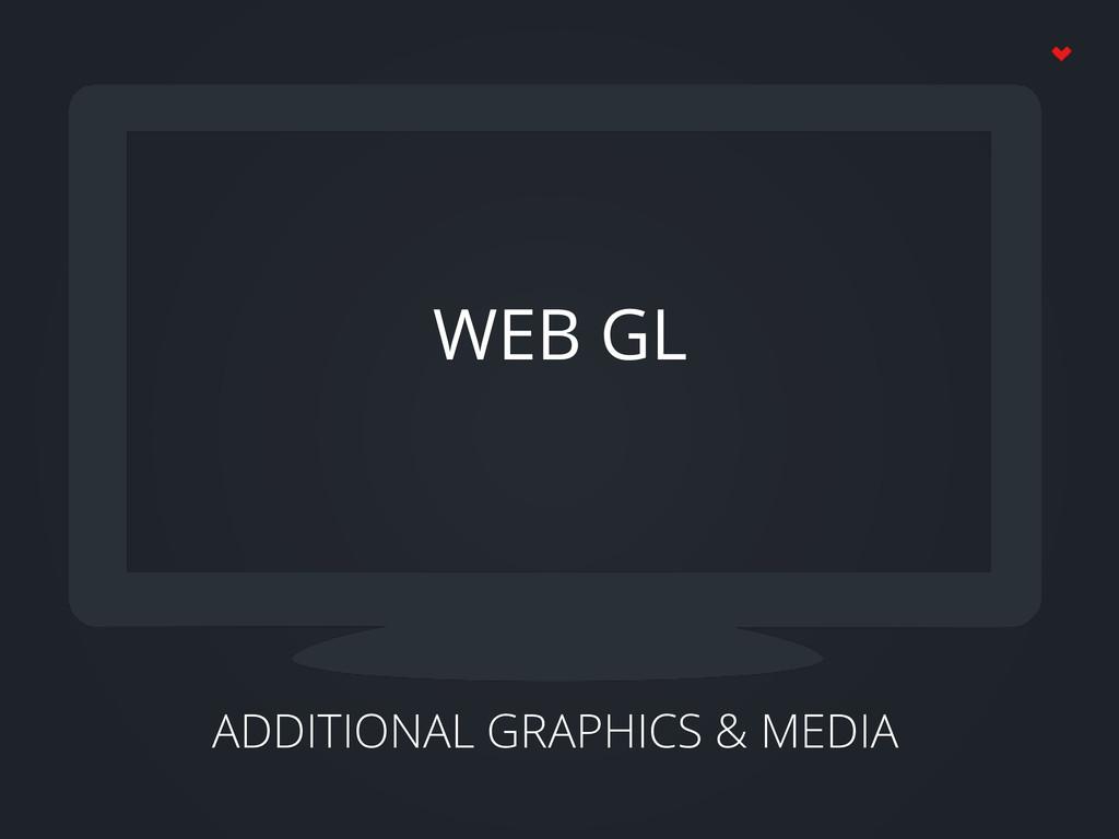 ADDITIONAL GRAPHICS & MEDIA WEB GL