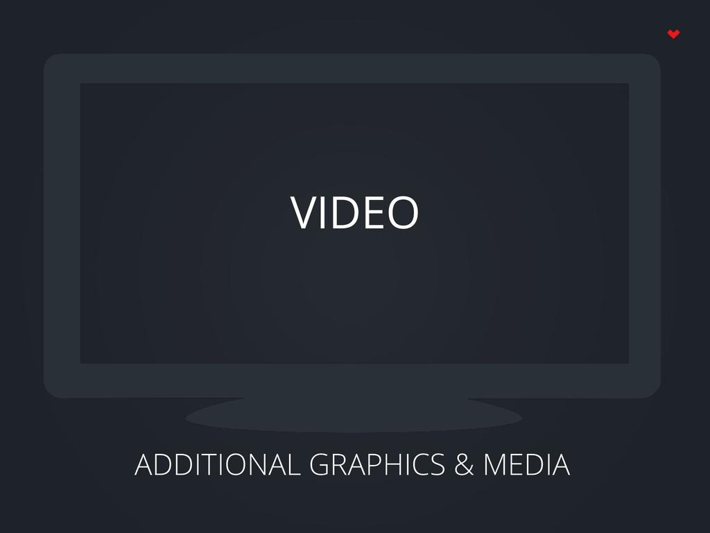 ADDITIONAL GRAPHICS & MEDIA VIDEO