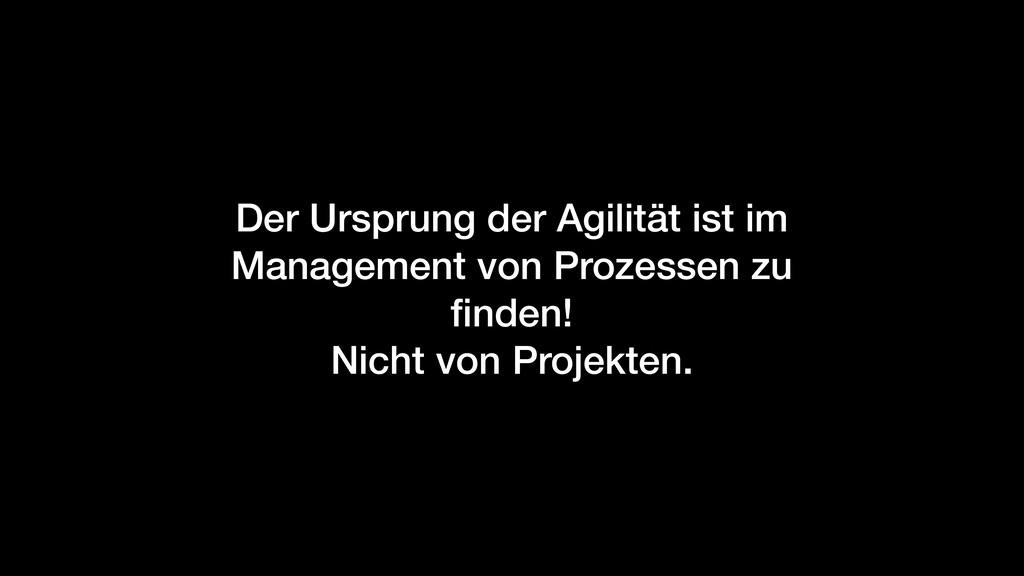 Der Ursprung der Agilität ist im Management von...