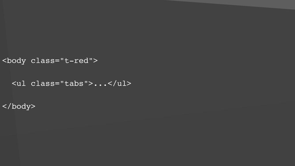 "<body class=""t-red""> <ul class=""tabs"">...</ul> ..."