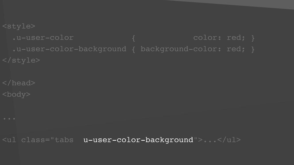 <style> .u-user-color { color: red; } .u-user-c...