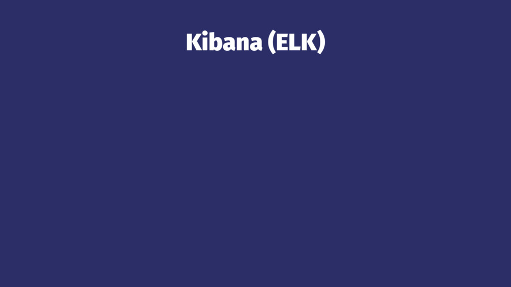Kibana (ELK)