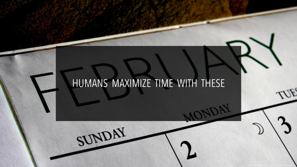 HUMANS MAXIMIZE TIME WITH THESE https://upload....