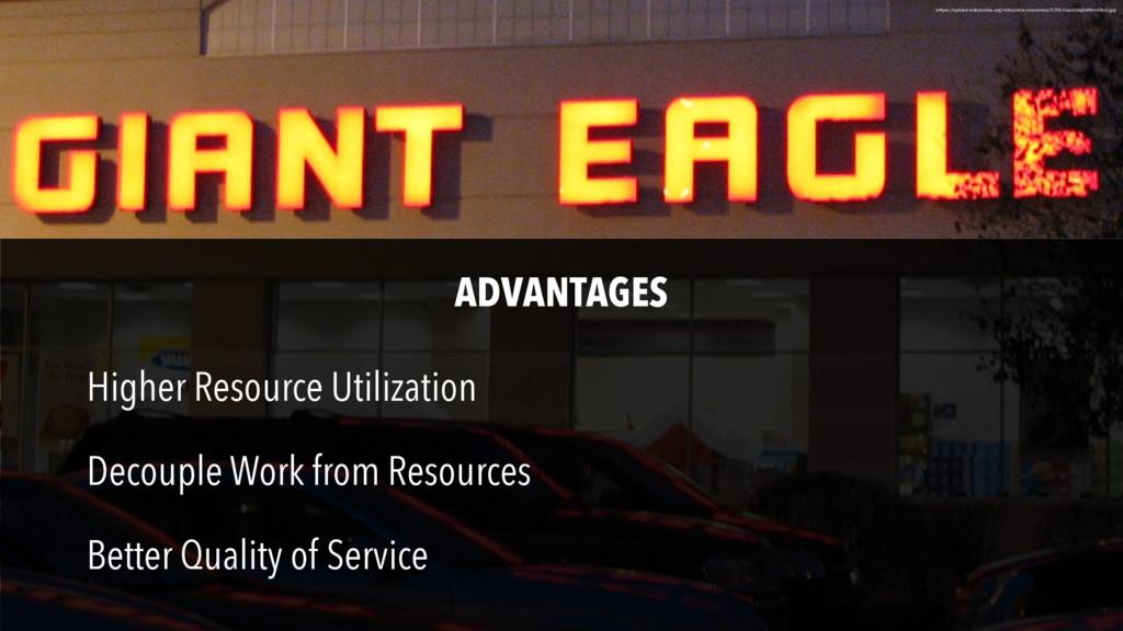 Higher Resource Utilization Decouple Work from ...