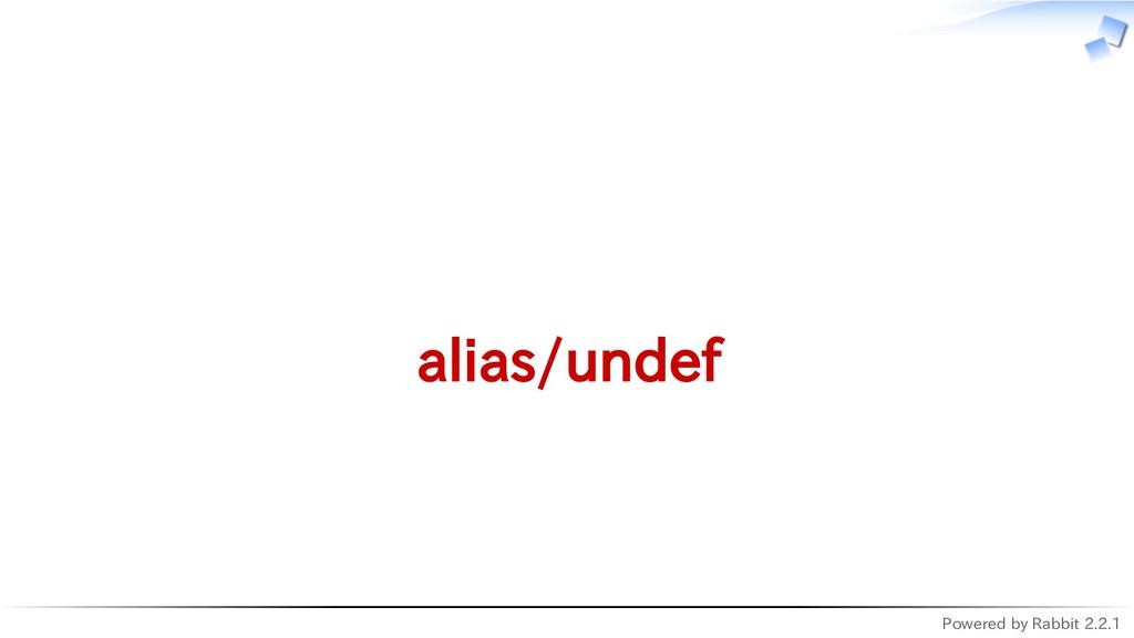 Powered by Rabbit 2.2.1   alias/undef
