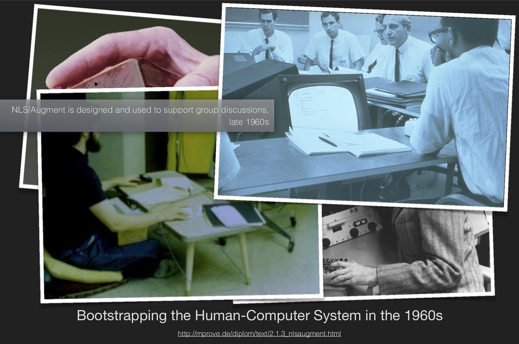 Bootstrapping the Human-Computer System in the ...