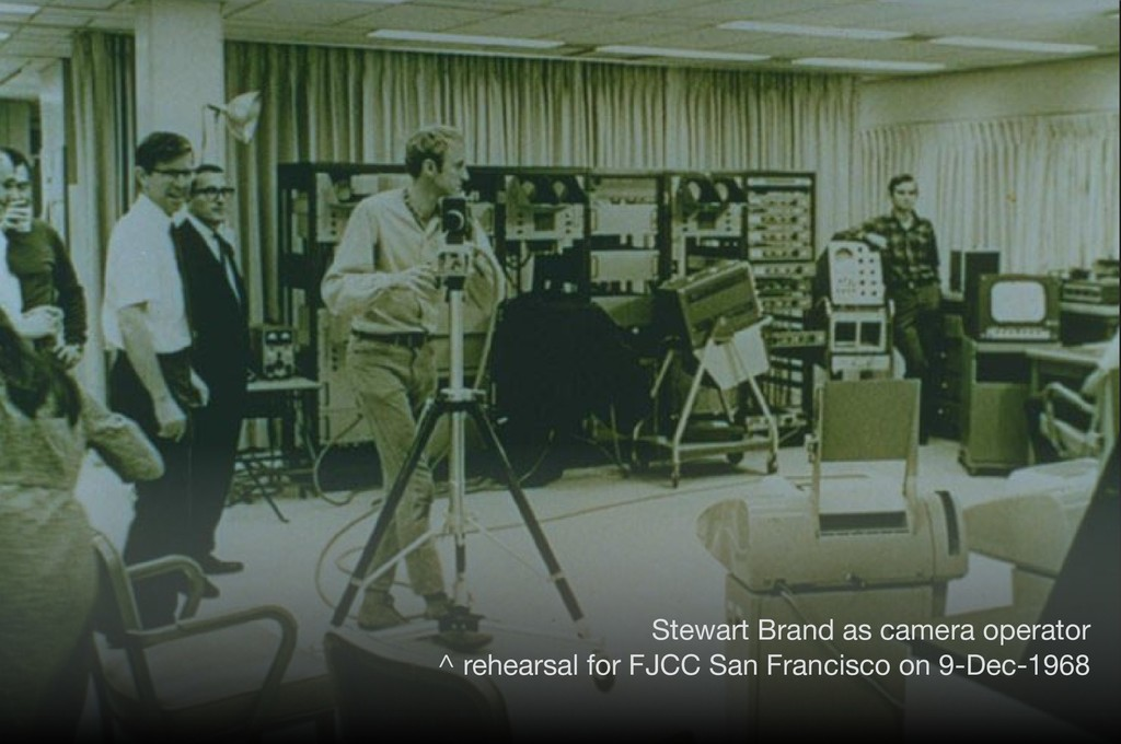 222 The Demo Stewart Brand as camera operator ...