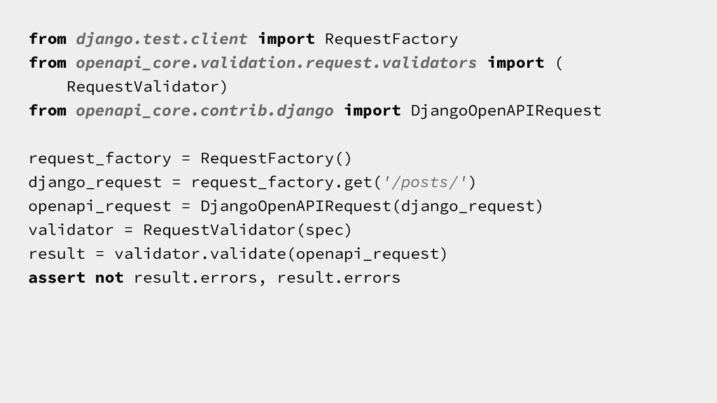 from django.test.client import RequestFactory f...