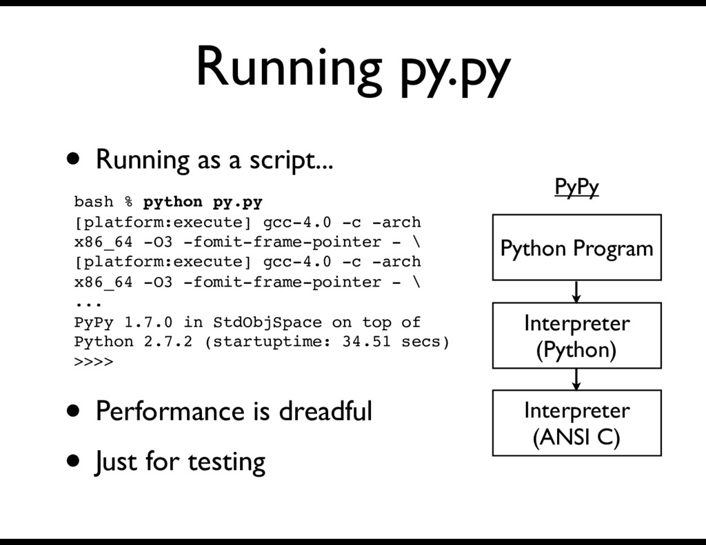 Running py.py • Running as a script... Interpre...