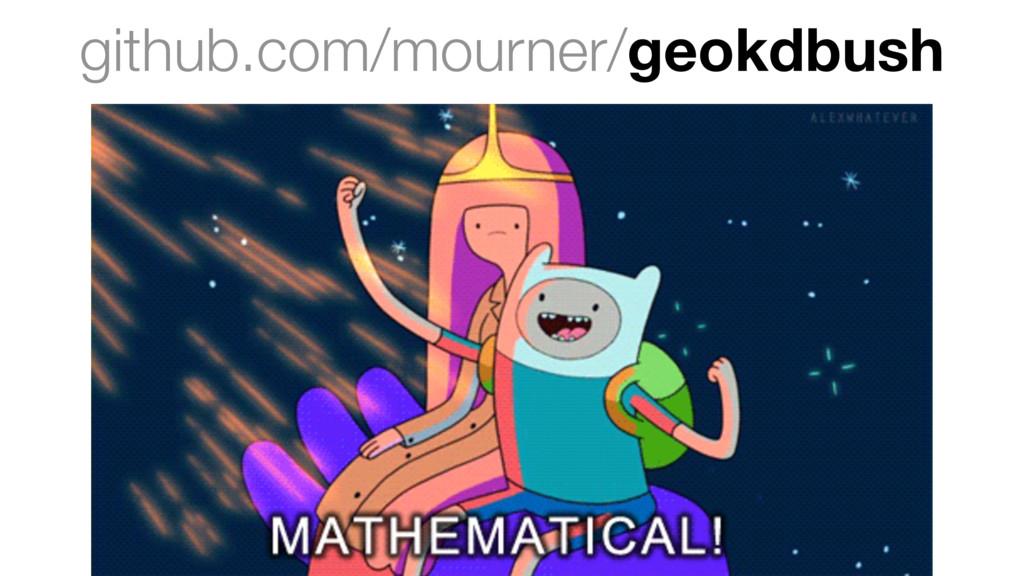 github.com/mourner/geokdbush