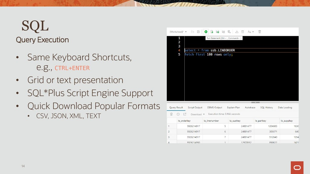 Data Grids • Click to Sort • Single Record View...