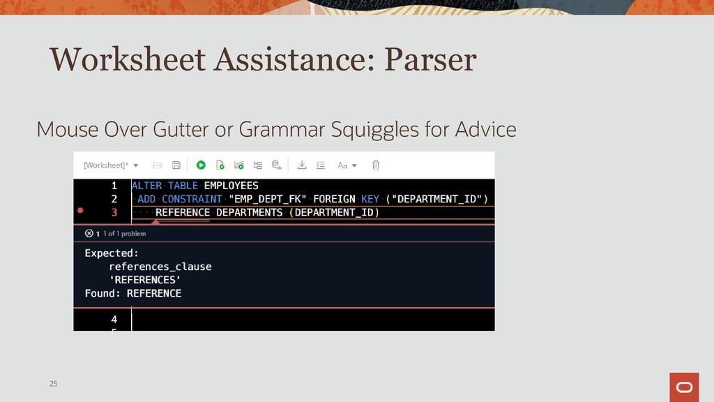 Worksheet Assistance: Formatter Runs in Browser...