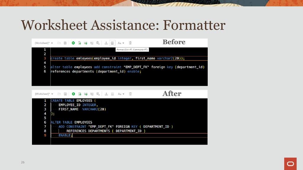 Worksheet: Browser See, Create & Edit 26