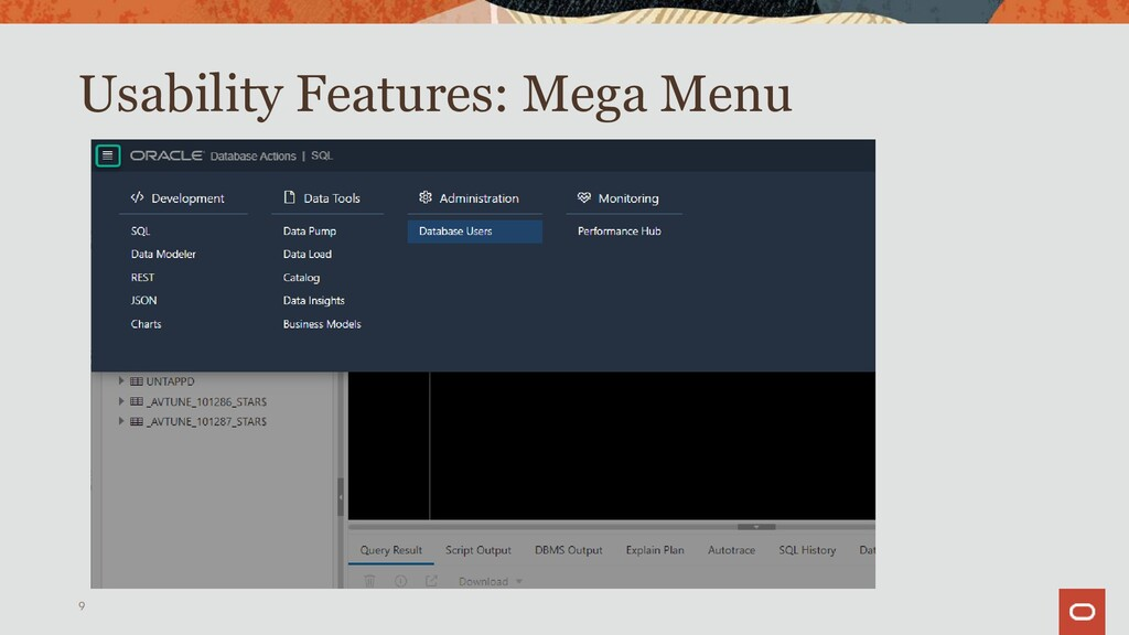 Usability Features Help 9 In-App Help Oracle Do...