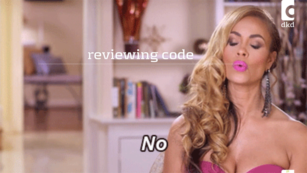 reviewing code 21