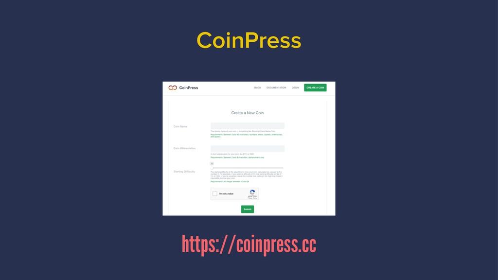 CoinPress https://coinpress.cc