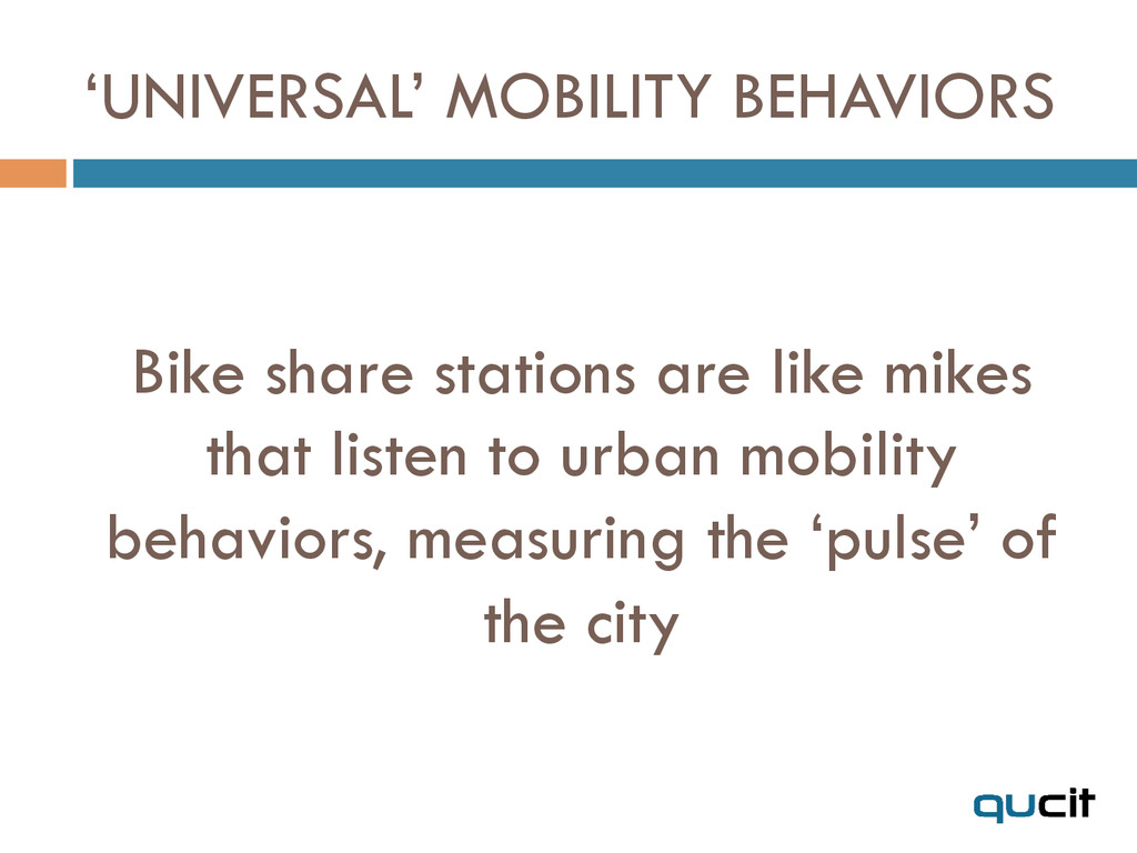 Bike share stations are like mikes that listen ...