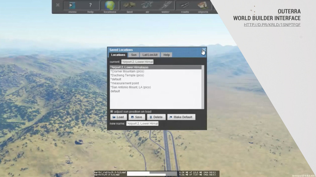 OUTERRA WORLD BUILDER INTERFACE HTTP://D.PR/KRL...