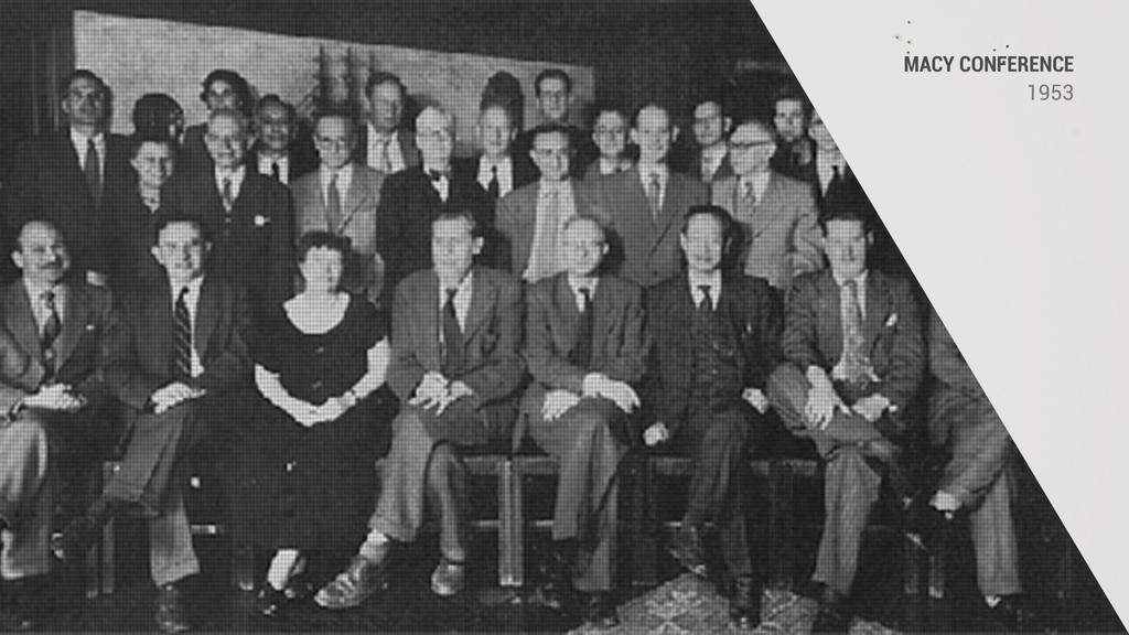 1953 MACY CONFERENCE 1953