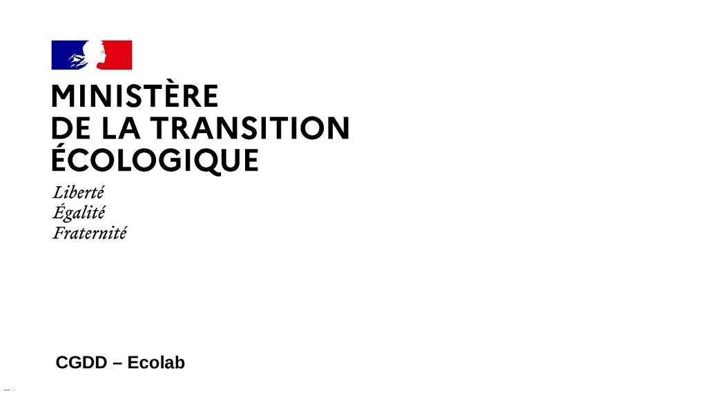 XX/XX/XXXX CGDD – Ecolab 1
