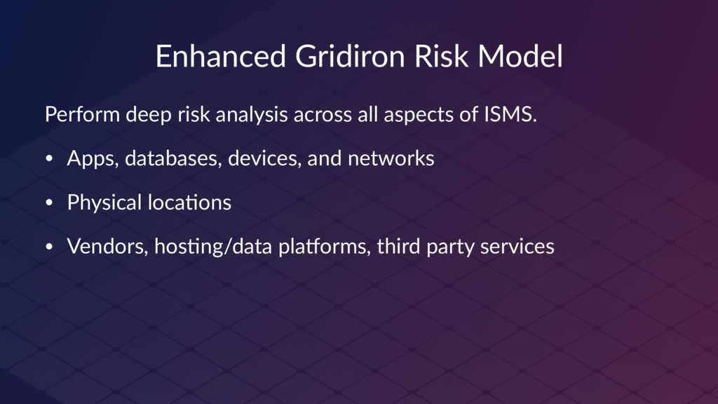 Enhanced Gridiron Risk Model Perform deep risk ...