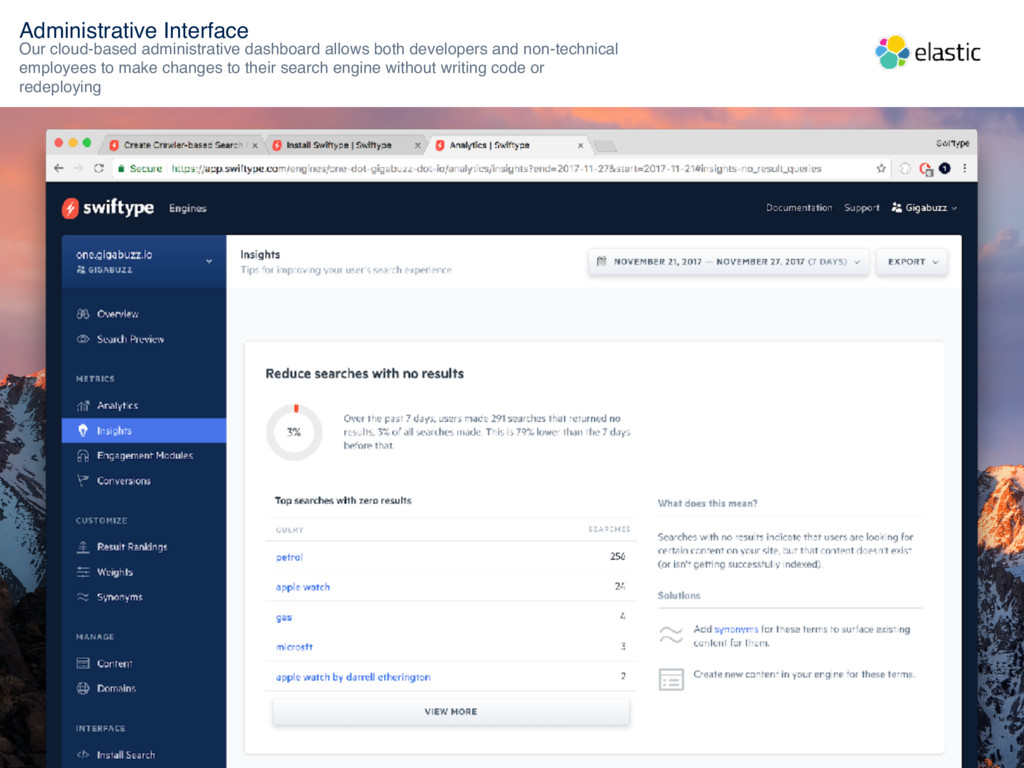 Administrative Interface Our cloud-based admini...