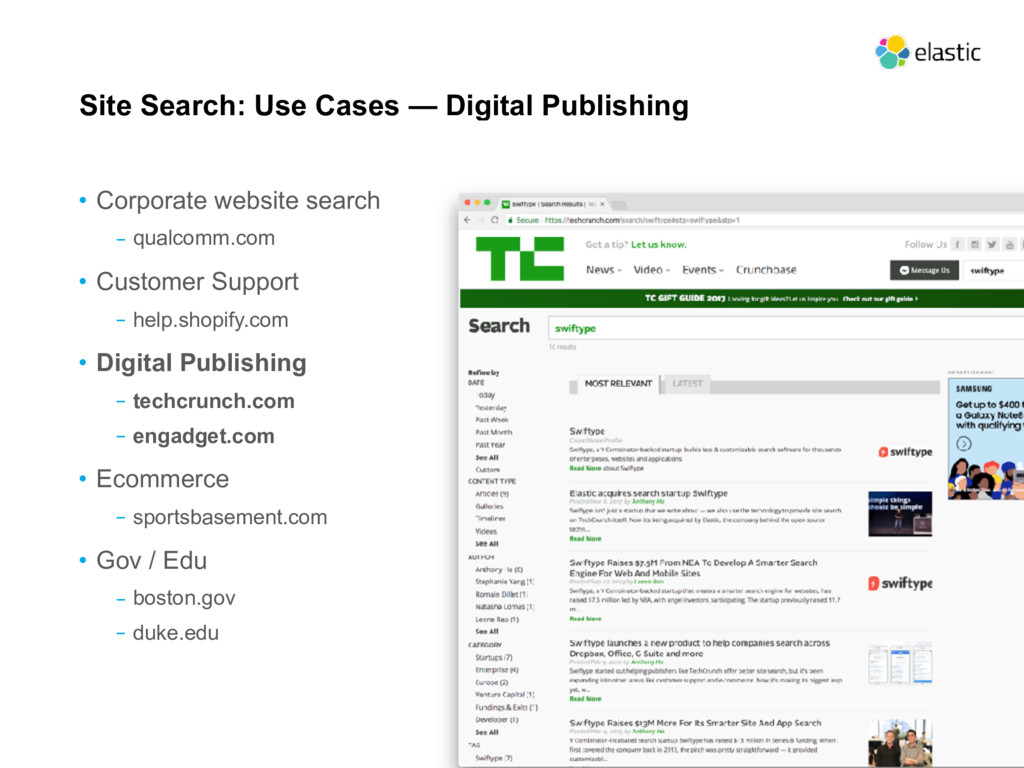 Site Search: Use Cases — Digital Publishing • C...