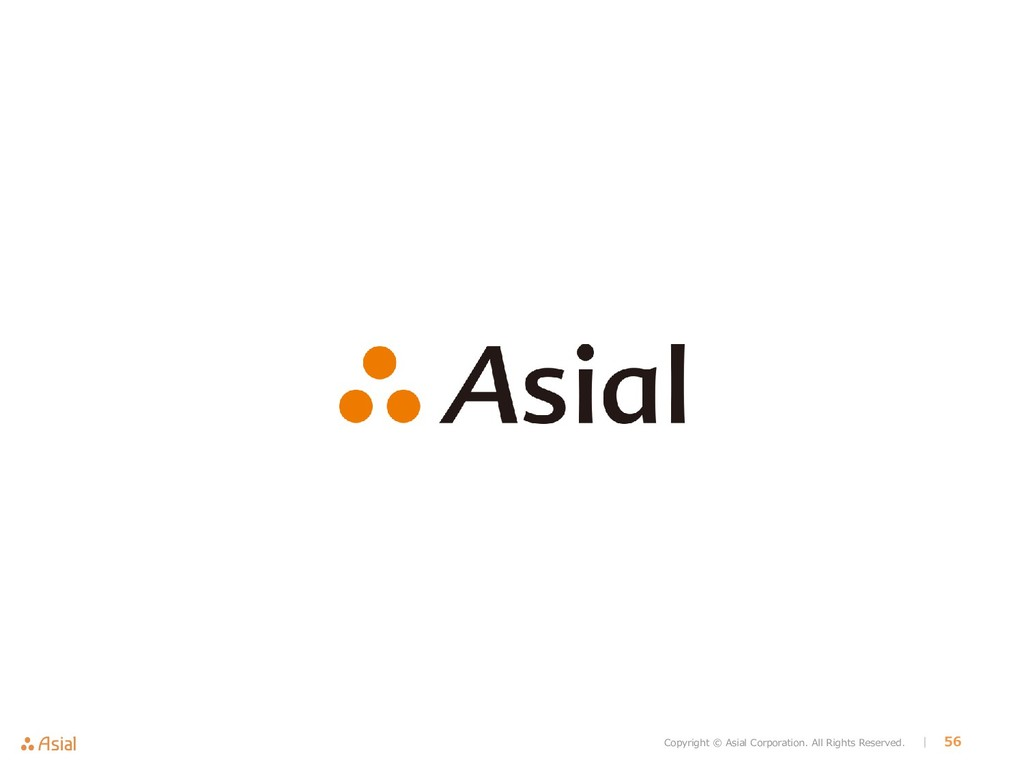 Copyright © Asial Corporation. All Rights Reser...