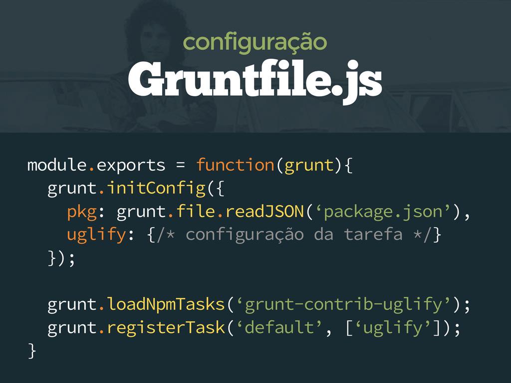 module.exports = function(grunt){ grunt.initCon...