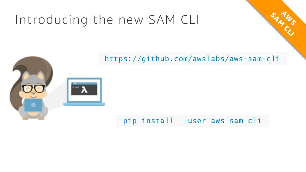Introducing the new SAM CLI https://github.com/...
