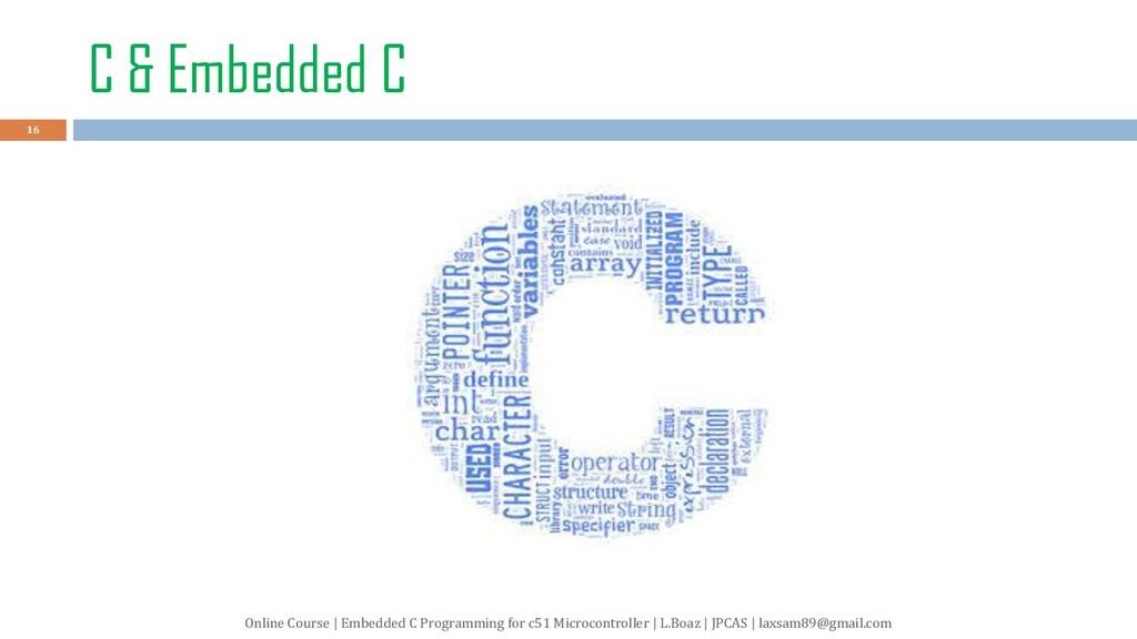 C & Embedded C 16 Online Course | Embedded C Pr...