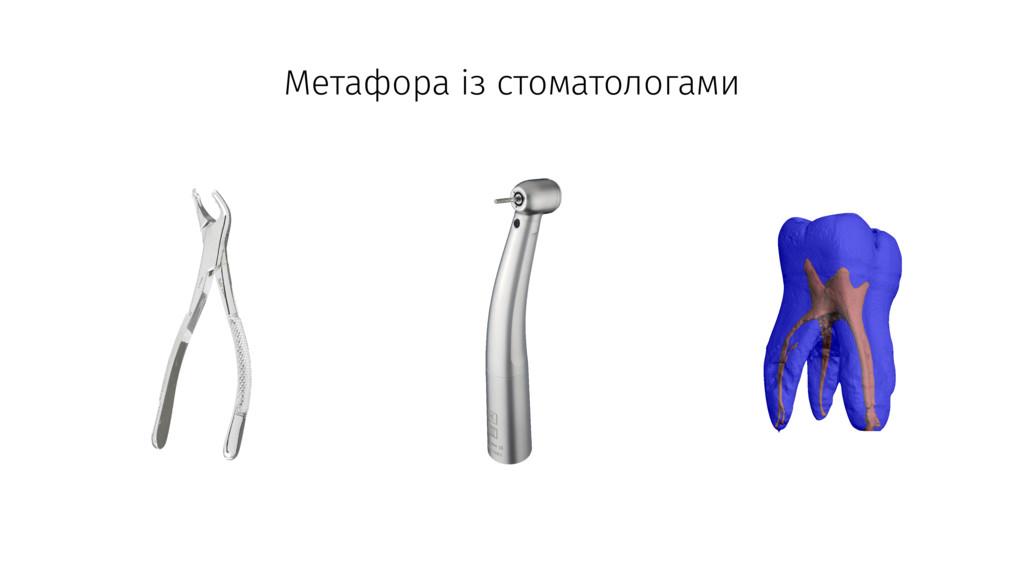 Метафора із стоматологами