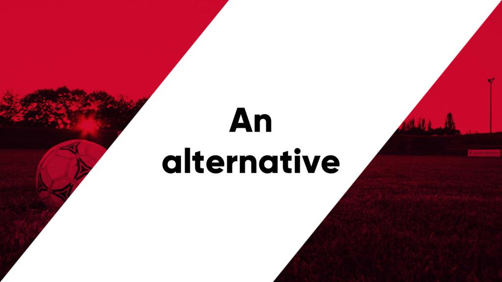 @PreusslerBerlin An alternative