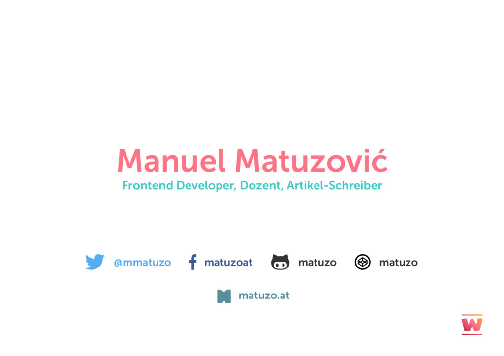 @mmatuzo matuzoat matuzo matuzo Manuel Matuzovi...