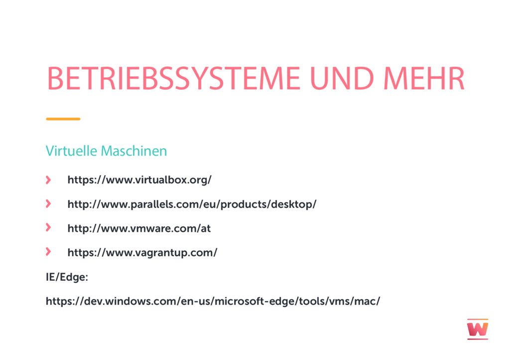 BETRIEBSSYSTEME UND MEHR Virtuelle Maschinen ht...