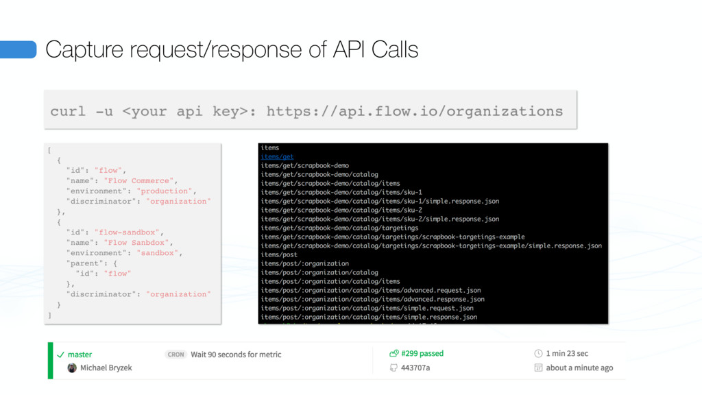 Capture request/response of API Calls