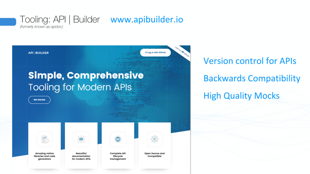 Tooling: API | Builder (formerly known as apido...